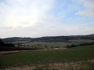 Aussicht - links der Lahnberg