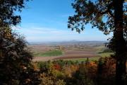 Aussichtspunkt Annabild - Blick auf die thüringischen Gleichberge