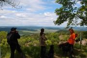 Aussicht oberhalb des Vulkankraters